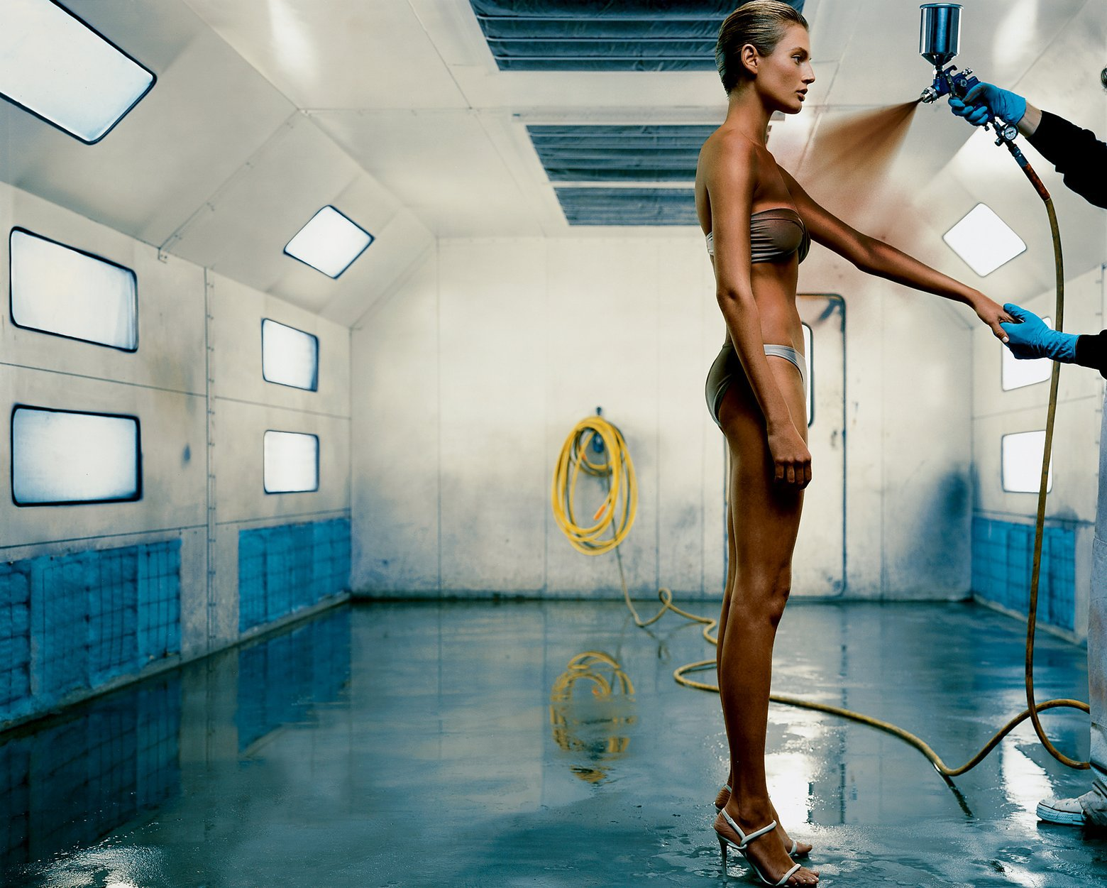 When Bad Spray Tans Happen to Good People: The 6-Minute Damage Control Guide